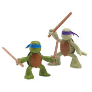 Teenage Mutant Ninja Turtles - Turtles in Training 2-Pack (Donatello and Leonardo)