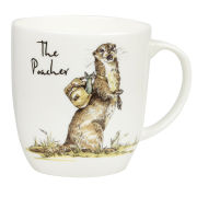 Country Pursuits The Poacher Olive Mug (300ml) - Multi