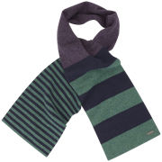 Ted Baker Roschick Block Striped Scarf - Purple
