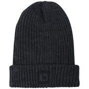 Antony Morato Men's Ribbed Knit Beanie - Dark Grey