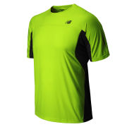 New Balance Men's Running Impact T-Shirt - Hi Vis Yellow