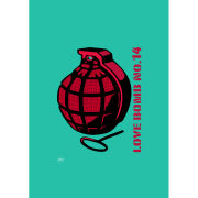 'Love Bomb No.14' Love Editions by Johnny Cotter - A3 Print
