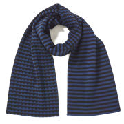 Marc by Marc Jacobs Zig Zag Sweater Scarf - Marine Blue Multi