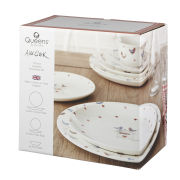 Alex Clark Lovebirds 12 Piece Dinner Set