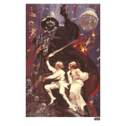 Star Wars The Saga Print