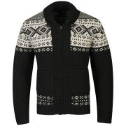 Farah 1920 Men's Wilkins Long Sleeve Cardigan - Charcoal Marl