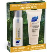 Phyto Dry Hair Travel Kit (Phytojoba Shampoo 50ml / Phytobaume Hydration 50ml)