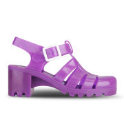 JuJu Women's Babe Heeled Jelly Sandals - Fluro Purple