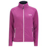 55 Soul Women's Sandy Zip Thru Fleece - Pink