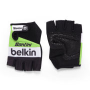 Belkin Team Replica Race Gloves - Black/Green 2014