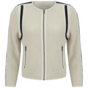 Custommade Women's Cotton Jacket - Egret White