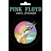 Pink Floyd Wish You Were Here - Vinyl Sticker - 10 x 15cm