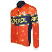 Pella Aperol Long Sleeve Jersey - Orange
