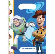 Toy Story 3 Loot Bags 6 Per Pack