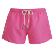 Oiler & Boiler Men's Shortie Swim Shorts - Shocking Pink