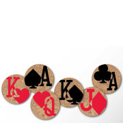 Cork Coasters - Gamblers Charm