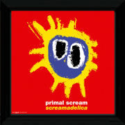 "Primal Scream Screamadelica - 12"""" x 12"""" Framed Album Prints"