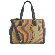 Paul Smith Accessories Women's Double Zip Tote Bag - Multi/Swirl