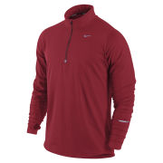Nike Men's Element 1/2 Zip Thermal Running Top - Gym Red