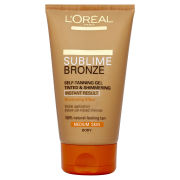 L'Oreal Paris Dermo Expertise Sublime Bronze Instant Self Tanning Gel - Medium (150ml)