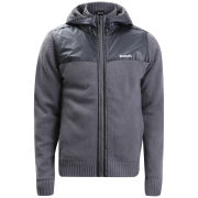 Bench Men's Klutz Knitted Jacket - Grey