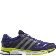 adidas Women's Response Cushion 22 Running Shoe - Blast Purple/Tech Silver Meet/Electricity