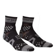 Compressport Pro Racing Socks - Trail - Black/Grey