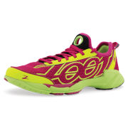 Zoot Women's Ovwa 2.0 Trainers - Beet/Safety Yellow