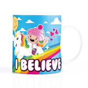 Unicorn Sprinkles Mug - Blue