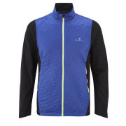 RonHill Men's Trail Vertex Running Jacket - Cobalt/Black