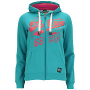 Tokyo Laundry Women's Reagan Zip Through Hoody - Virdian Green