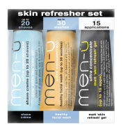 men-u skin refresher set 3 x 15ml