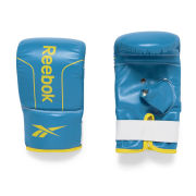 Reebok PU Boxing Mitts - Medium Cyan