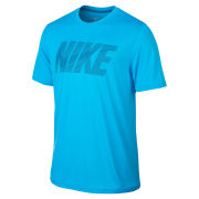 Nike Men's Legend Swoosh Short Sleeve T-Shirt - Blue
