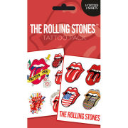 The Rolling Stones Lips - Tattoo Pack