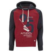 Smith & Jones Men's Novar Hoody - Red/Navy
