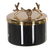 Gold Deer Lid Candle