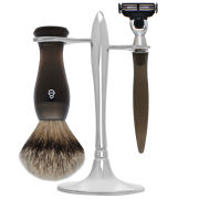 eShave T Stand Shaving Set Smoke