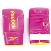 Reebok PU Boxing Mitts - Medium Magenta