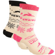 Ted Baker Women's Snowler Fairisle Sock Pack - Assorted