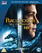 Percy Jackson: Sea of Monsters 3D (Bevat 2D Version en UltraViolet Copy)