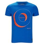 Jack & Jones Men's Fast Fashion Eton T-Shirt - Blue
