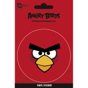 Angry Birds Red Bird - Vinyl Sticker - 10 x 15cm