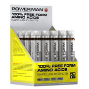 Powerman 100% Free Amino Acids