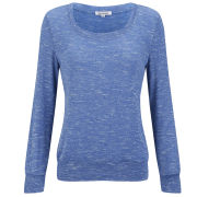 Glamorous Women's Elbow Patch Jumper - Blue