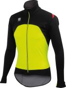 Sportful Fiandre Men's Light WS Jacket - Yellow Fluo/Black
