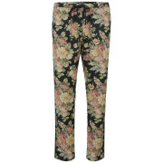 Maison Scotch Women's Silky Pyjama Floral Print Pants - Multi