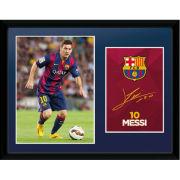 Barcelona Messi 14/15 - 16 x 12 Framed Photgraphic