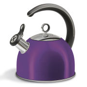 Morphy Richards Accents 2.5 Litre Whistling Kettle - Plum