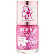 Nails Inc Poppy Delevingne Pinkie Pink Polish (10ml) (Breast Cancer Campaign)
